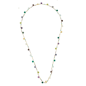 necklace for women multi stones multi colors